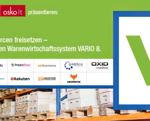 Varia 8 - automatisiertes Warenwirtschaftssystem