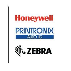 Unsere Partner: Honeywell, Printronix, ZEBRA